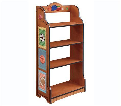 Dreamfurniturecom  Teamson Kids Boys 4 Level Bookcase