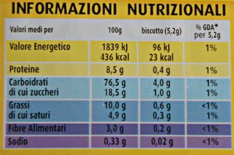 tabella nutrizionale oro saiwa autosvezzamentoit