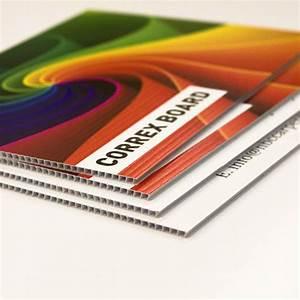 Correx Boards Digitally Printed A2
