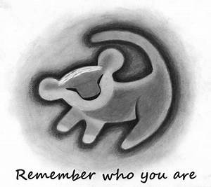 remember who you are simba tattoo ankle - Google Search ...