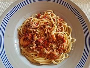 Pasta Mit Garnelen : pasta mit thunfisch garnelen und flusskrebsen rezept mit bild ~ Orissabook.com Haus und Dekorationen