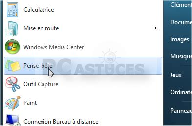 windows 7 post it bureau retrouver les post its windows 7 tous les cours en ligne