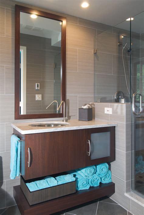 modern guest bathroom remodel remodeling bath design