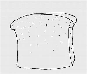 How to Draw a Slice of Bread Step by Step | How to Draw Faster