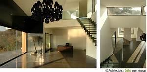 maison bois contemporaine maison d39architecte maison en With interieur maison bois contemporaine