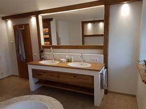 Badmöbel Aus Holz : badezimmerm bel altholz ~ Lizthompson.info Haus und Dekorationen