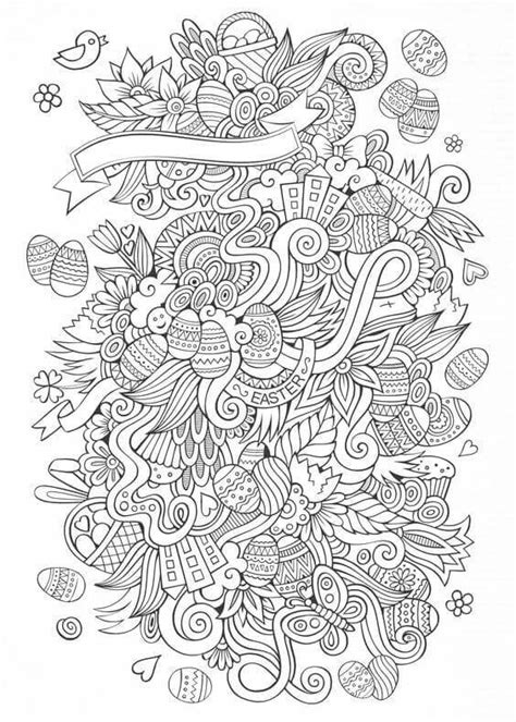 35 free printable easter coloring pages