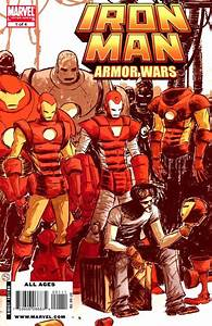 Image - Marvel Comics - Iron Man and his Suits of Armors ...