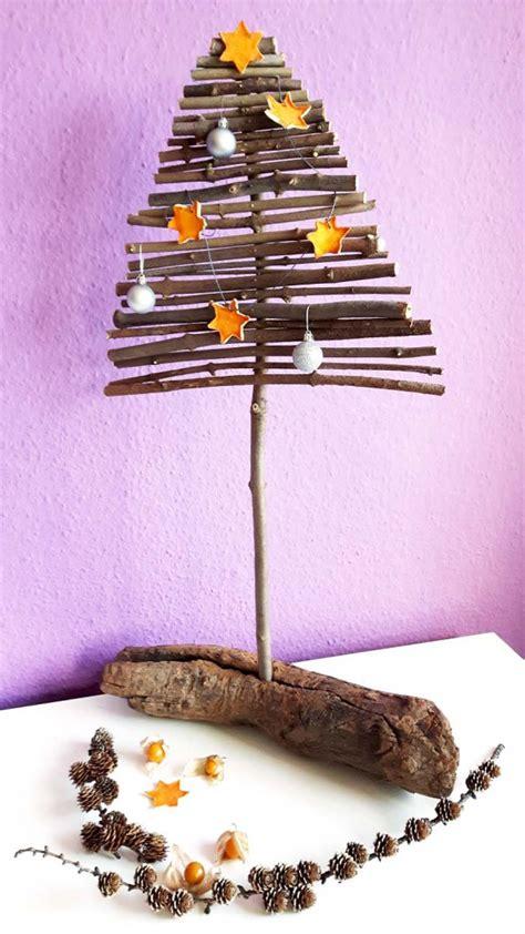 weihnachtsbaum selber machen diy weihnachtsbaum aus holz nadelfrei und selbstgemacht gr 252 neliebe