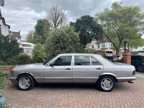 Wheels and lower spoiler pieces shown on this '84 were installed by amg. 1984 Mercedes-Benz 500SEL S Class Classic Luxury Sedan For ...