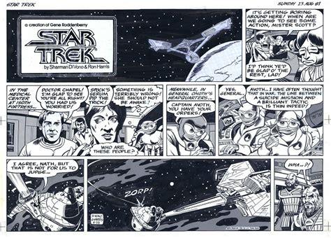 Los Angeles Times Syndicate Star Trek Newspaper Comic Strip