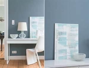 Grau Blaue Wand : kolorat ~ Watch28wear.com Haus und Dekorationen
