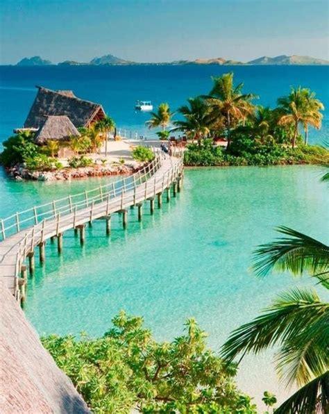 Beautiful Likuliku Lagoon Resort In Malolo Island Fiji