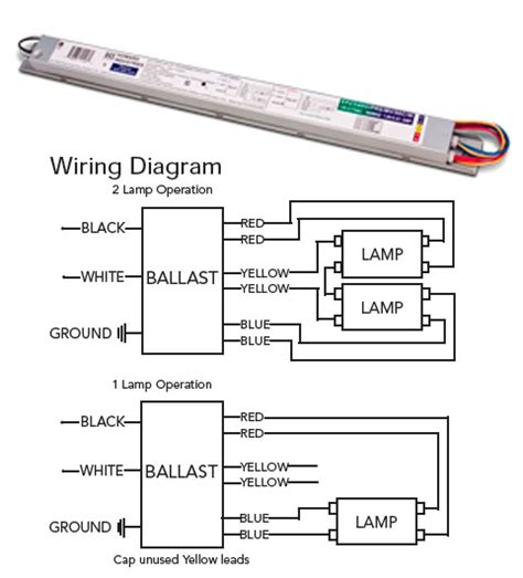 electronic ballast wiring