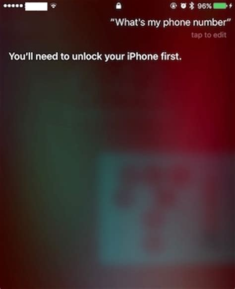 using siri without unlocking iphone someone can
