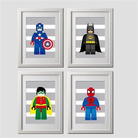 Kinderzimmer Ideen Superhelden by Superhelden Wand Kunst Drucke Superhelden Superhelden Satz