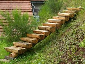 Des idées d escalier en bois pour le jardin Escaliers en