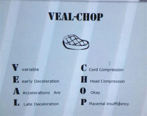veal chop fetal rate monitoring nursing ob nursing nclex and