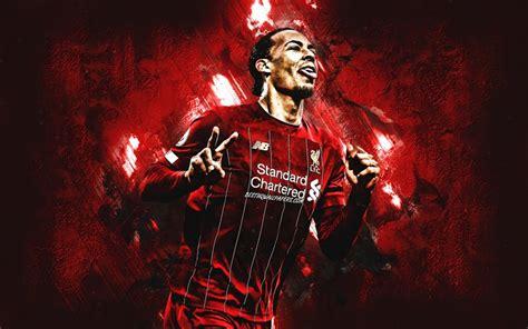Download wallpapers Virgil van Dijk, Liverpool FC, Dutch ...