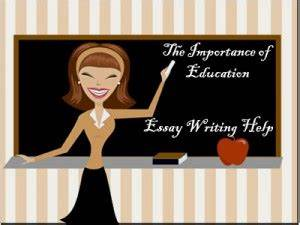 importance of education essay for class 5