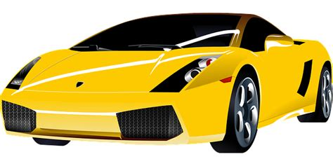 Luxury Car Expensive Lamborghini · Free Vector Graphic On