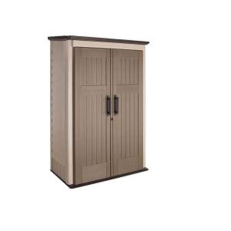 Rubbermaid Sheds Home Depot by Rubbermaid 3 Ft X 4 Ft Large Vertical Storage Shed