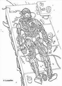 C3PO 5 ABC Coloring Pages Ausmalen Ausmalbilder