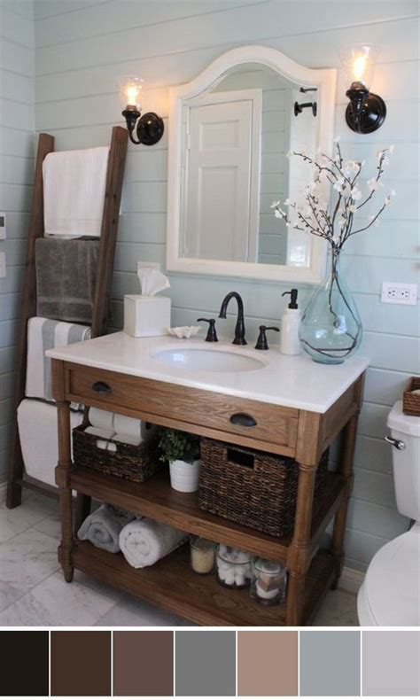 Bathroom Towel Color Schemes by Best 20 Bathroom Color Schemes Ideas On Guest