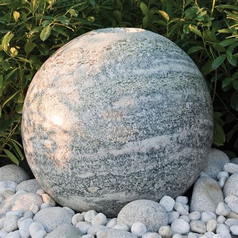 spheres for the garden green granite 60cm polished sphere garden water feature s s shop
