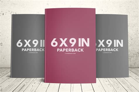6 X 9 Book Series Template