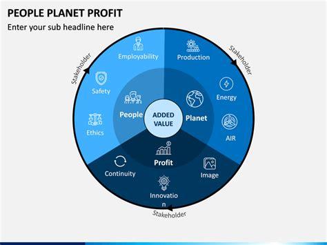 people planet profit powerpoint template sketchbubble