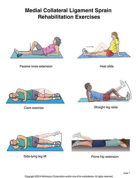 13 best mcl tear images on pinterest knee injury knee