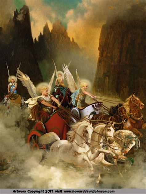 zechariahs vision    angel chariots zechariah