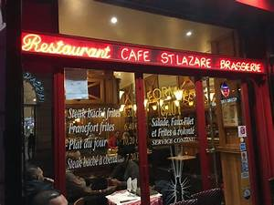 Restaurant Le Lazare : cafe saint lazare paris photo de cafe saint lazare paris tripadvisor ~ Melissatoandfro.com Idées de Décoration