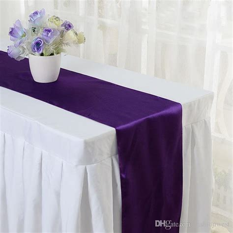 2016 chair sashes satin table runner wedding banquet decoration chair cover sashes wedding