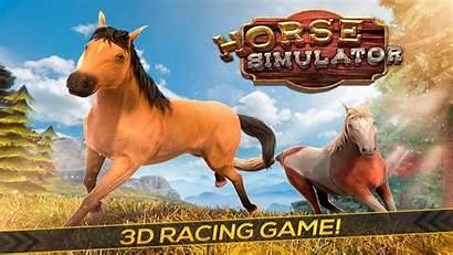 Horse Simulator Games Wild Racing Simulation