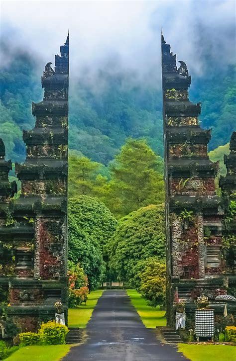 gates     hindu temples  bali  indonesia