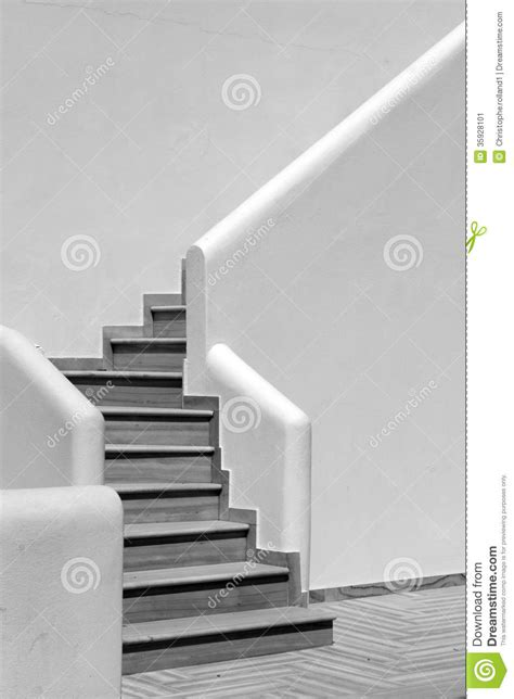 modern stairs  greece stock image image