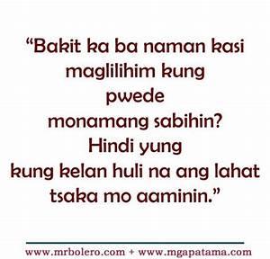 Patama tagalog ... Malanding Bakla Quotes