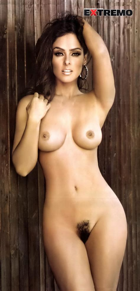 Andrea Garcia Showing Off Her Big Boobs Hairy Pussy In H Extremo Magazine Mexico