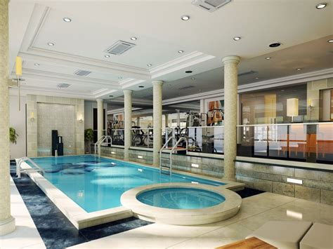 basement pool workout room hot tub dream house