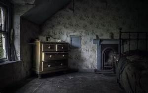 Wallpaper, Old, Room, Dark, Theme, Interior, Design
