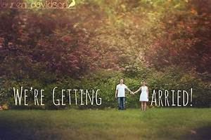 Cs wedding guide engagement announcement ideas for Wedding announcement ideas with pictures