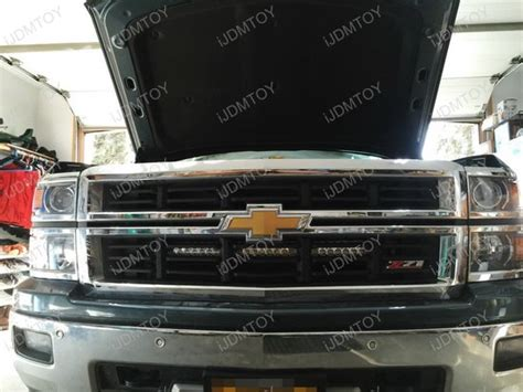 2014 up silverado 1500 2500 3500 grille 30 quot led