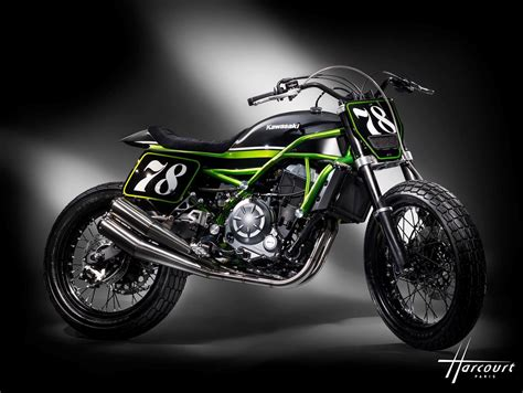 Versys X 250 4k Wallpapers by Kawasaki S Z650 Gets A Flat Track Makeover