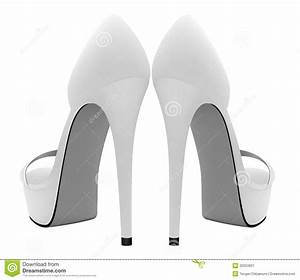 high heel shoe design template - blank high heels shoes template royalty free stock