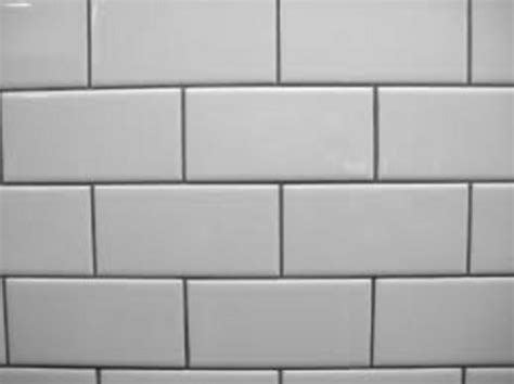 grout color with white subway tile