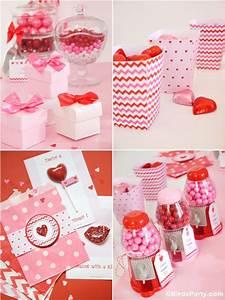 Sweet Party Day : sweet heart valentine 39 s day desserts table printables ~ Melissatoandfro.com Idées de Décoration