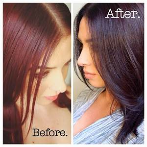 Dark Red Brown Hair Color Box Hair Color Highlighting And ...