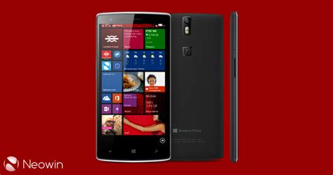 windows phone family oneplus in talks with microsoft to join windows phone